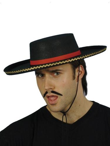 Spanish Style Fancy Dress Hat Thumbnail 1