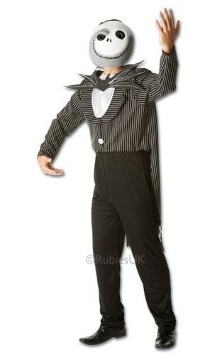 Jack Skellington Fancy Dress Costume Thumbnail 1