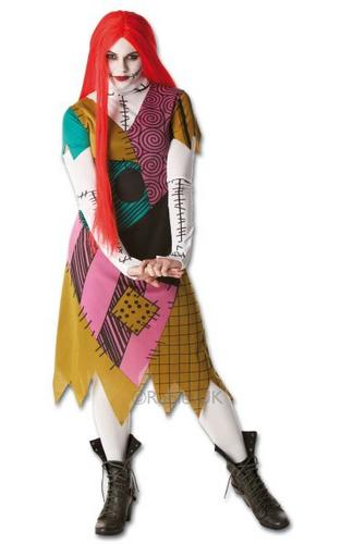 Sally Fancy Dress Costume Thumbnail 1