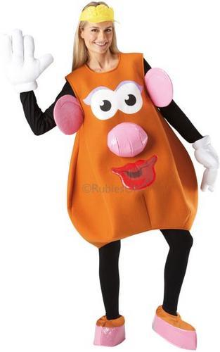 Mrs Potato Head Fancy Dress Costume Thumbnail 1