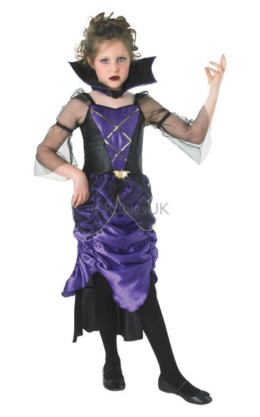 Childs Gothic Vampiress Costume Thumbnail 1