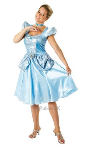 Ladies Cinderella Costume Thumbnail 1