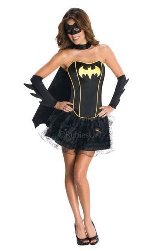 Batgirl Corset Costume Thumbnail 1