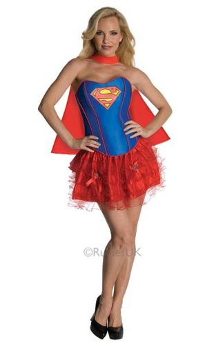 Supergirl Corset Costume Thumbnail 1
