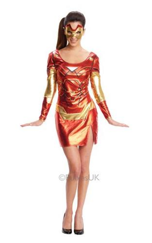 Miss IronMan Rescue Costume Thumbnail 1