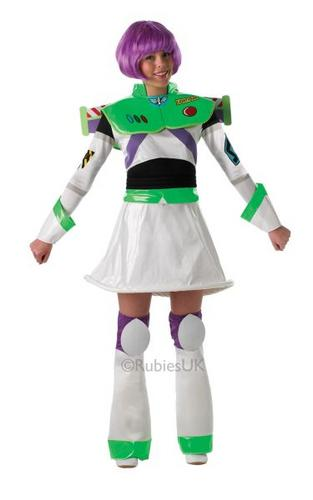 Ladies Buzz Lightyear costume Thumbnail 1