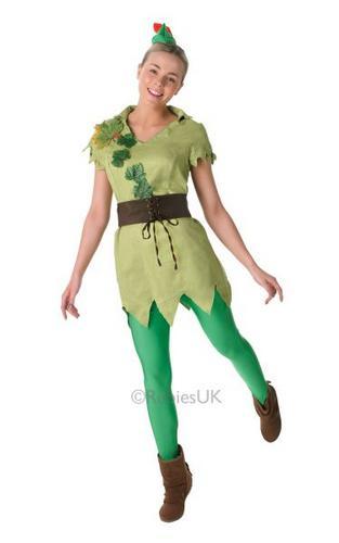 Ladies Peter Pan costume Thumbnail 1