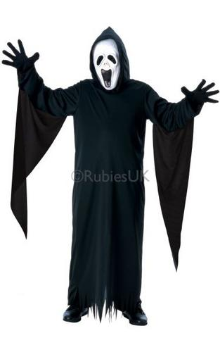 Kids Howling ghost Fancy Dress Costume Thumbnail 1