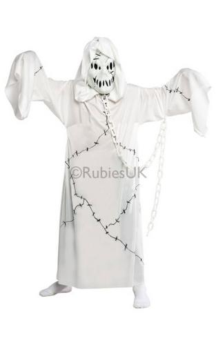 Kids Cool Ghoul Fancy Dress Costume Thumbnail 1