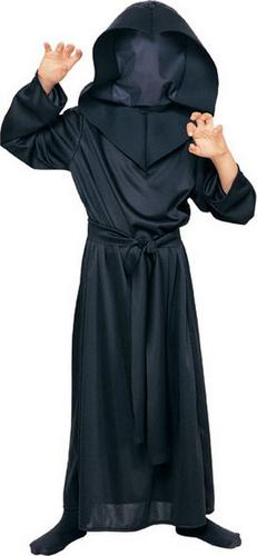 Kids Hidden Face Robe Fancy Dress Costume Thumbnail 1
