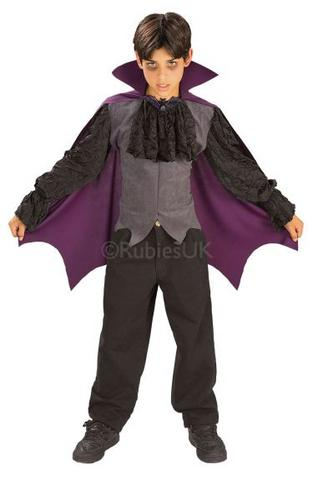 Night Vampire Fancy Dress Costume Thumbnail 1