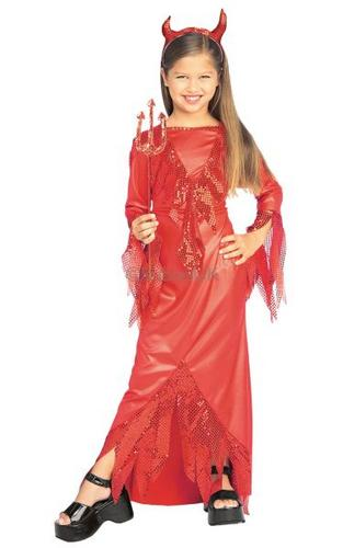 Devilish Diva Fancy Dress Costume Thumbnail 1