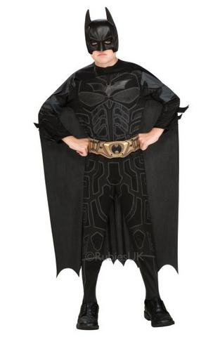 Kids Dark Knight Fancy Dress Costume Thumbnail 1