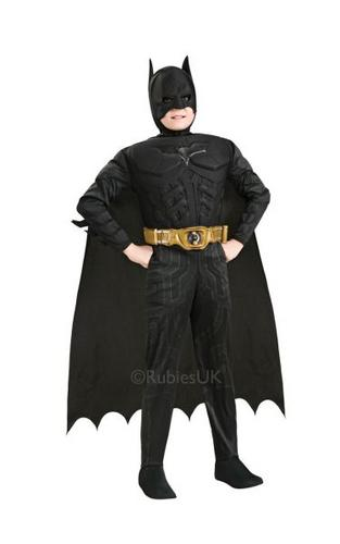 Childs Dark Knight Fancy Dress Costume Thumbnail 1