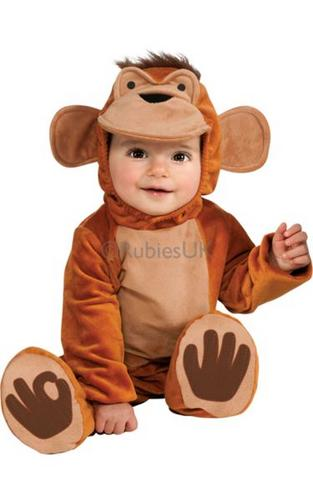 Cute N Cuddly Funky Monkey Costume Thumbnail 1