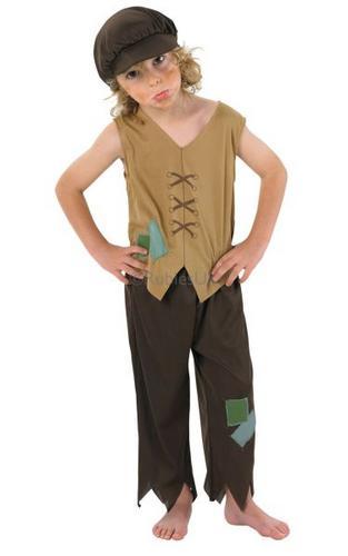 Victorian Urchin Costume Oliver Twist Thumbnail 1
