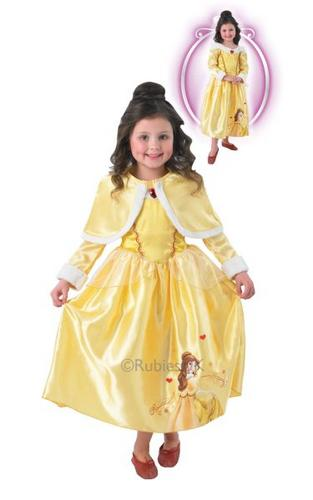 Belle Winter Wonderland Costume Thumbnail 1
