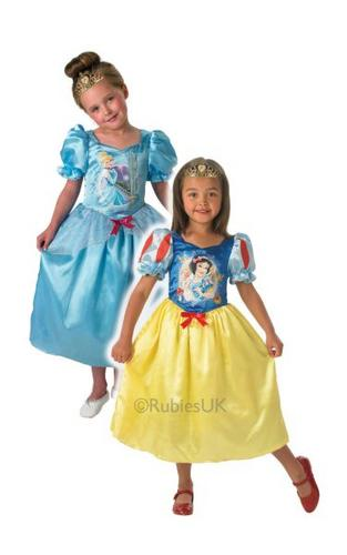 Disney Princess Reversible Cinderella To Snow White Thumbnail 1