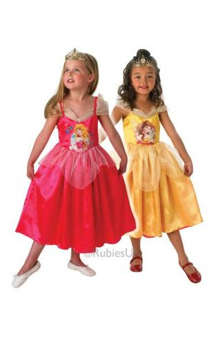 Disney Princess Reversible   Sleeping Beauty To Belle Childs costume Thumbnail 1