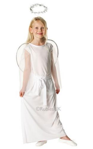 Angel Fancy Dress Costume Kids Thumbnail 1