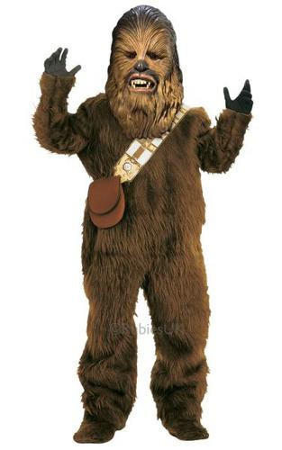 Boys Chewbacca Fancy Dress Costume Thumbnail 1
