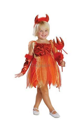 Lil Devil Fancy Dress Costume Thumbnail 1