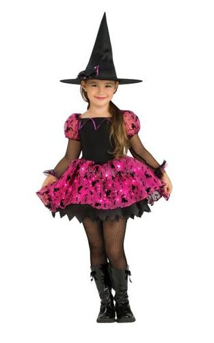Moonlight Magic Witch Fancy Dress Costume Kids Thumbnail 1