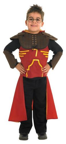 Harry Potter Deluxe Quidditch Robe Fancy Dress Costume Thumbnail 1