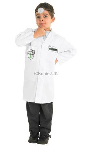 Boys Doctor Fancy Dress Costume Thumbnail 1