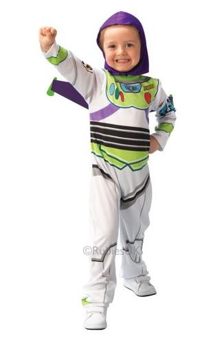 Boys Classic Buzz Lightyear Fancy Dress Costume Thumbnail 1