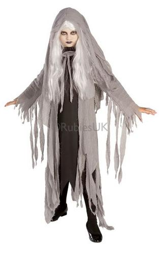 Kids Midnight Spirit Fancy Dress Costume Thumbnail 1