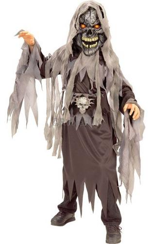 Evil Eye Skull Fancy Dress Costume Thumbnail 1