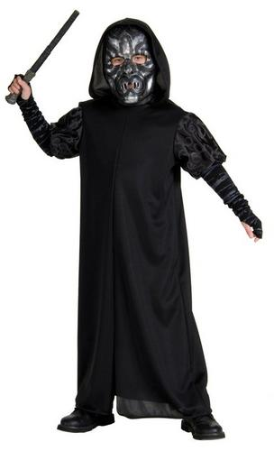 Kids Death Eater Fancy Dress Costume Thumbnail 1