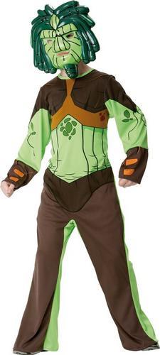 Green Forest Gormiti Fancy Dress Costume Thumbnail 1