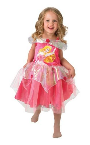 Sleeping Beauty Ballerina Fancy Dress Costume Thumbnail 1