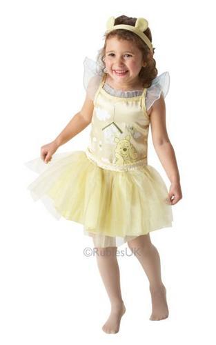 Pooh Ballerina Fancy Dress Costume Thumbnail 1
