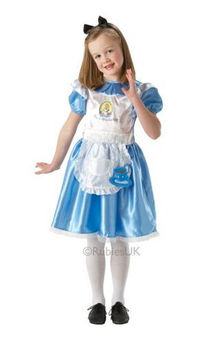 Alice in Wonderland Fancy Dress Costume Thumbnail 1