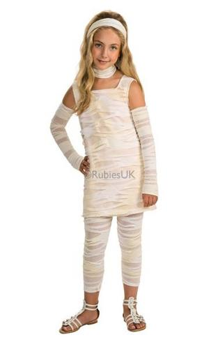 Girls MUMMY ISTA Costume Thumbnail 1