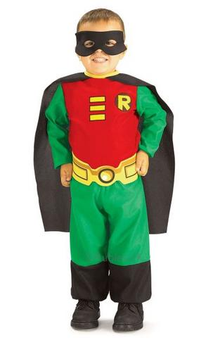 Titans Robin Fancy Dress Costume Thumbnail 1