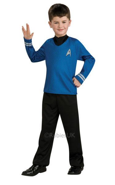 Star Trek Spock Costume Childs Thumbnail 1