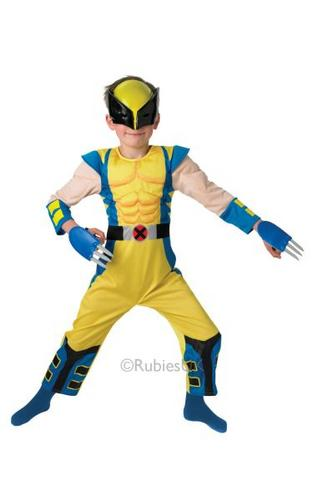 Kids Wolverine Deluxe Costume Thumbnail 1