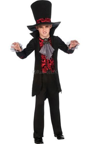 Childs Vampire Lord Costume Thumbnail 1