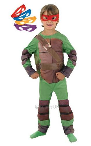 Kids Teenage Mutant Ninja Turtle Costume Thumbnail 1