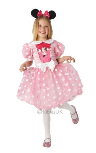 Pink Glitz Minnie Mouse Costume Thumbnail 1