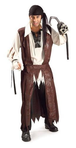 Caribbean Pirate Fancy Dress Costume Thumbnail 1