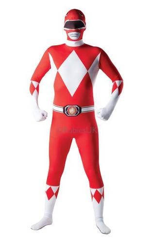 Red Ranger 2nd Skin Costume Thumbnail 1