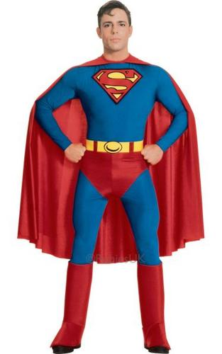 Superman Fancy Dress Costume Thumbnail 1