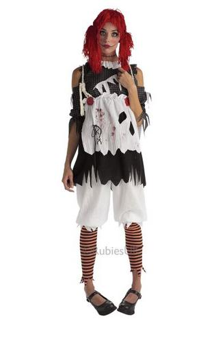 Rag Doll Girl Fancy Dress Costume Thumbnail 1