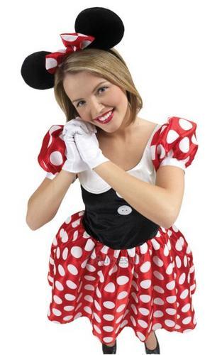 Minnie Mouse Fancy Dress Costume Thumbnail 1