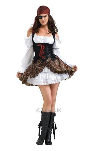 Buccaneer Babe Fancy Dress Costume Thumbnail 1